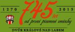 1270-2015 | 745 let od první písemné zmínky