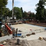 Most v Nedbalově ulici by měl být dokončen v polovině září